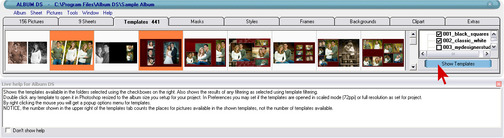 album ds templates - album ds desain software mendesain album secara otomatis