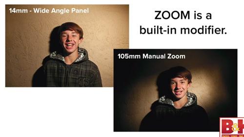 Pengaturan Speedlite Zoom pada Canon