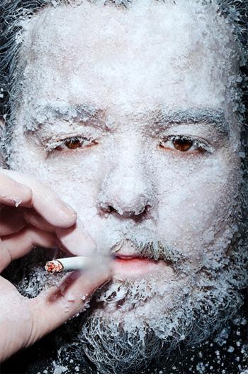 Icy Portrait ditangkap oleh Finn O'Hara
