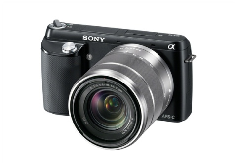 Alpha NEX-F3 Mirrorless-1