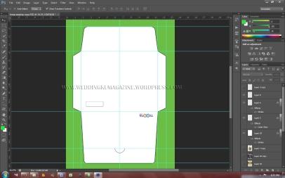 Preview layout Angpau di Photoshop