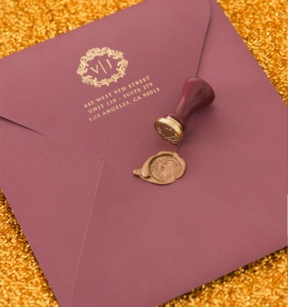 personalised-gold-foiled-envelope-vanessa-williams