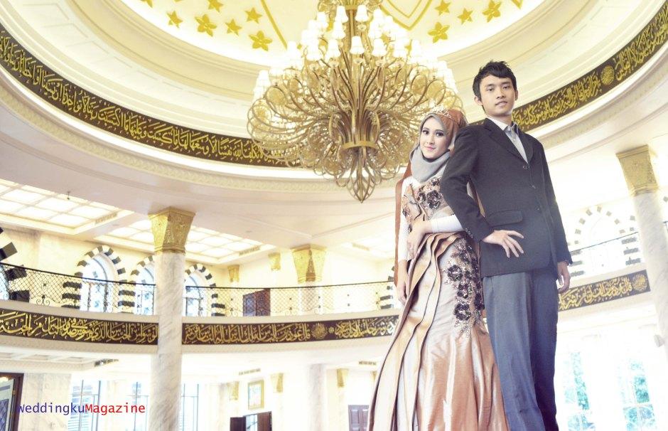 Prewedding di dalam Mesjid