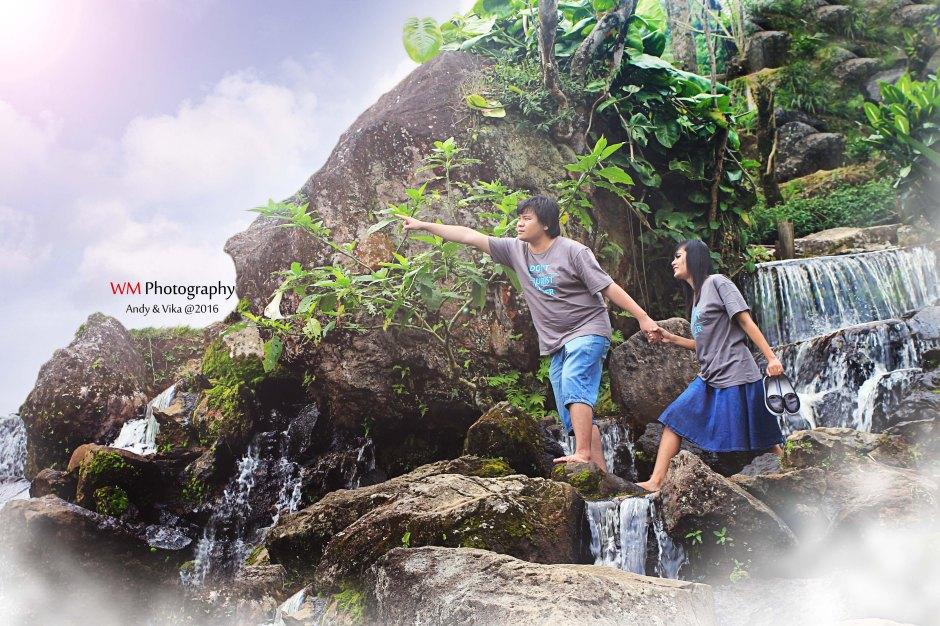 Prewedding Andy & Vika | Lokasi : Curug Tilu-Ciwidey Bandung